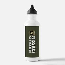 U.S. Army: Proud Cousi Water Bottle