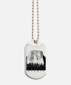El Capitan Yosemite Dog Tags