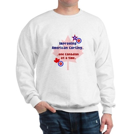 """US-CA Curling"" Sweatshirt"