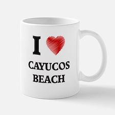 I love Cayucos Beach California Mugs