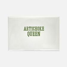 Artichoke Queen Rectangle Magnet (100 pack)