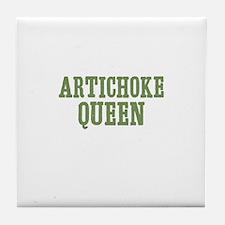 Artichoke Queen Tile Coaster