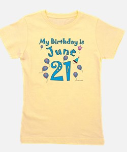 Cute June baby Girl's Tee