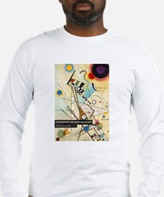 Kandinsky Book Cover Long Sleeve T-Shirt