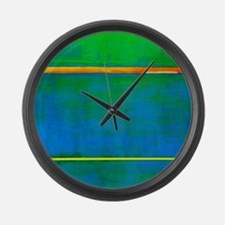 ROTHKO_ DIONYSIUS Large Wall Clock