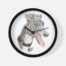 Fiesty Rex 1 Wall Clock