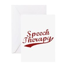 Speech Therapy Greeting Card