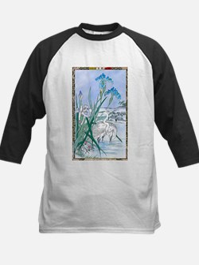 Blue Iris Heron Pond Baseball Jersey