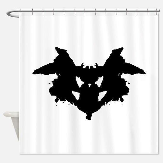 Rorschach Inkblot Shower Curtain