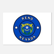 Reno Nevada Postcards (Package of 8)