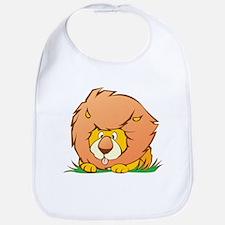 Lion cartoon Bib
