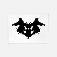 Rorschach Inkblot 5'x7'Area Rug