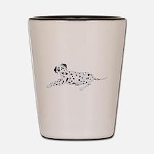 Sitting Dalmatian Shot Glass