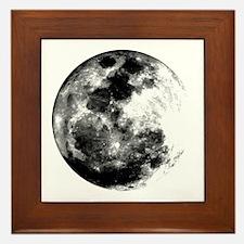 Full Moon Framed Tile