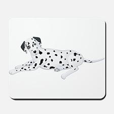 Sitting Dalmatian Mousepad