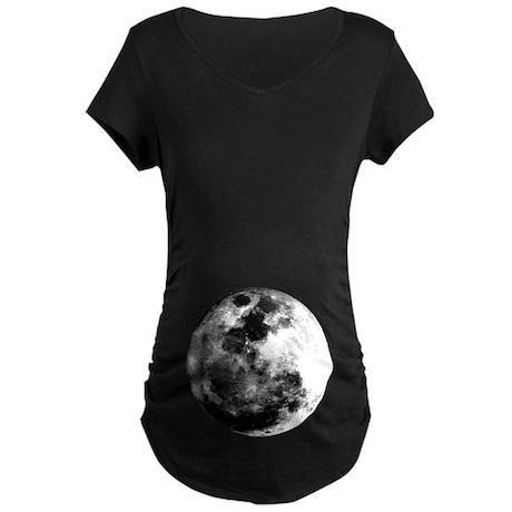 Full Moon Maternity Dark T-Shirt