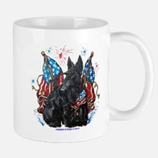 All American Scottie Mugs