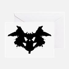 Rorschach Inkblot Greeting Cards