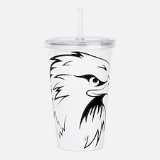 Eagle head Acrylic Double-wall Tumbler