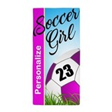 Custom soccer Beach Towels