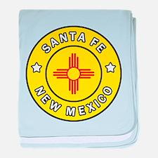 Santa Fe New Mexico baby blanket