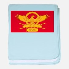 Roman Legion baby blanket