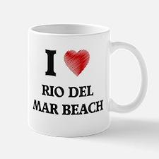 I love Rio Del Mar Beach California Mugs