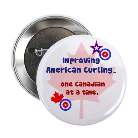 """US-CA Curling"" 2.25"" Button (10 pack)"
