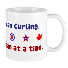 """US-CA Curling"" Mug"