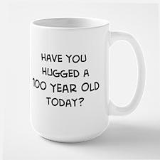 Hugged a 100 Year Old Mugs