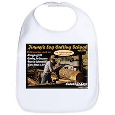 Jimmy's Logcutting School Bib