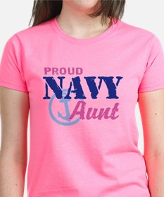 Proud Navy Aun T-Shirt