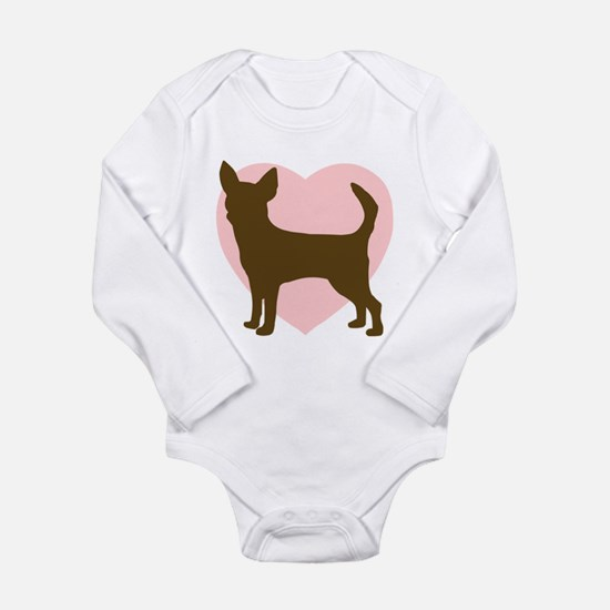 Chihuahua Heart Body Suit