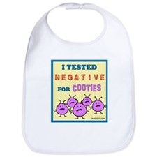Negative for Cooties Bib