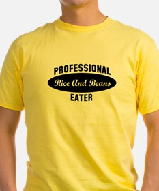 Pro Rice And Beans eater T-Shirt