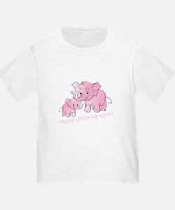 Big Sister & Little Sister Elephants T-Shirt