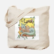 Dragon Reader Tote Bag