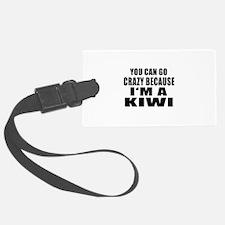 I Am Kiwi Luggage Tag