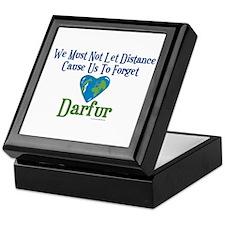 Darfur Heart 1 Keepsake Box