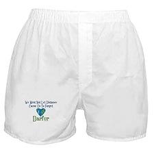 Darfur Heart 1 Boxer Shorts