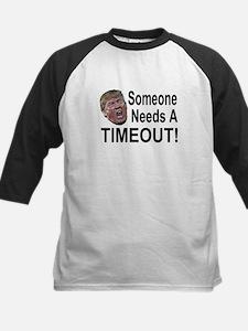 He needs a Timeout Baseball Jersey