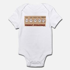 Weekly Evolution Infant Bodysuit