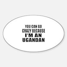 Ugandan Designs Sticker (Oval)