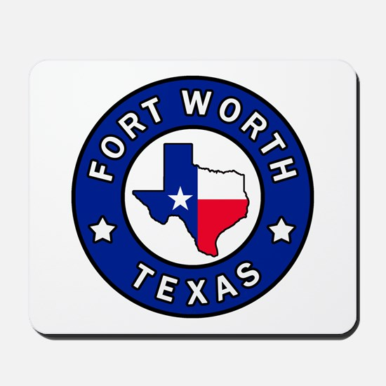 Fort Worth Texas Mousepad