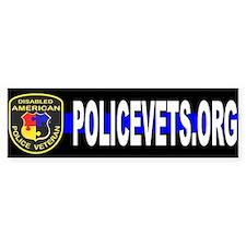Policevets DAPV Bumper Bumper Sticker