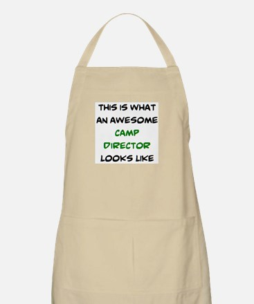 awesome camp director Apron