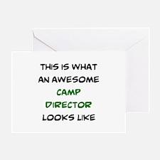 fantastic camp director Greeting Card