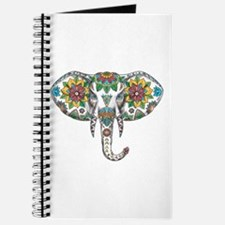 Elephant Head Mandala Tattoo Journal