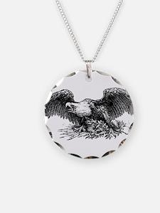 War eagle clip art Necklace