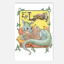 Dragon Reader Postcards (Package of 8)